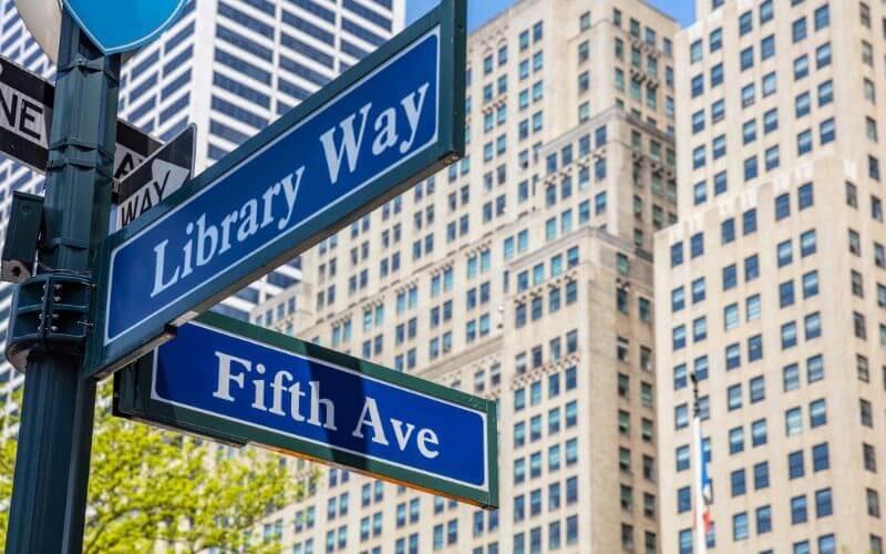 Library Way de Nueva York