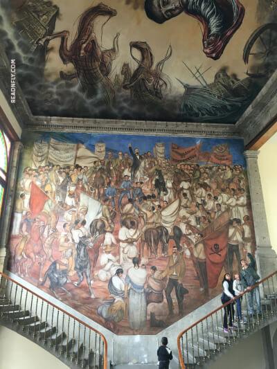 Museo de historia de México - Castillo de Chapultepec
