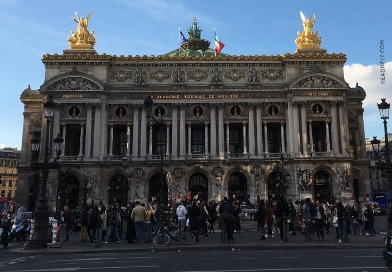 OPERA GARNIER - PARIS - READNFLY.COM