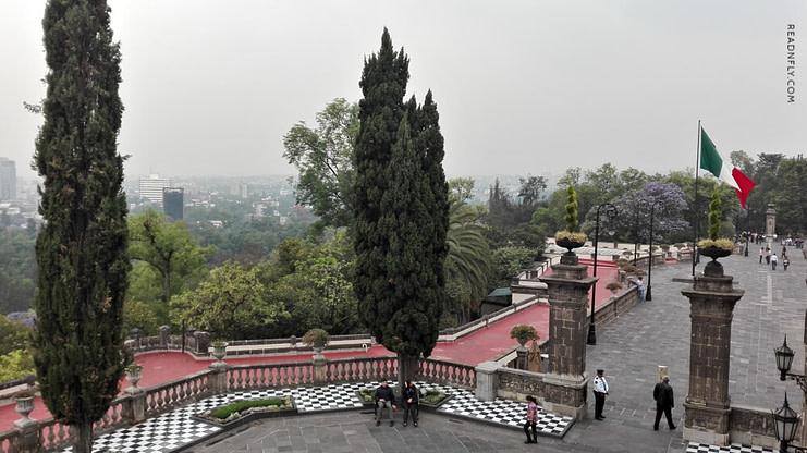 CASTILLO DE CHAPULTEPEC- VISTAS