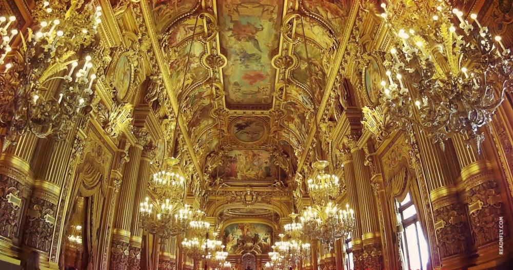 PARIS - GARNIER - GRAND FOYER - READNFLY.COM