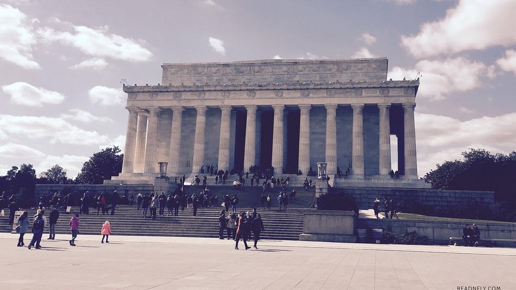 LINCOLN MEMORIAL - WASHINGTON DC - READNFLY.COM