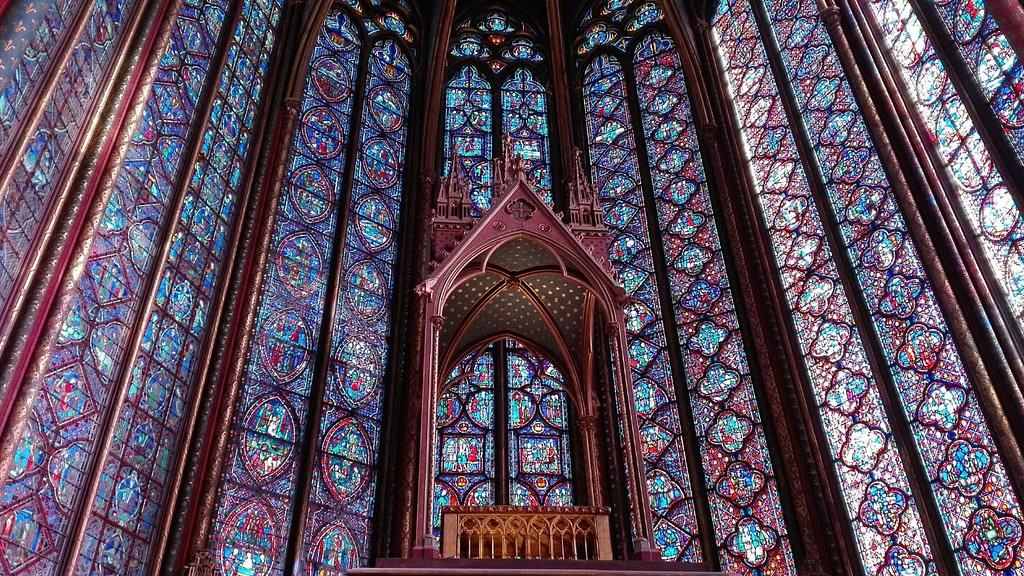 sainte-chapelle de París y la corona de jesucristo